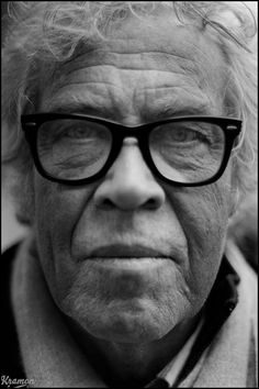 Danish film director and poet Jørgen Leth (b. 1937) what a great face!