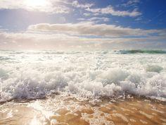 Check out Sand, Ocean, Sky by Zepol on Creative Market - #beach #sea