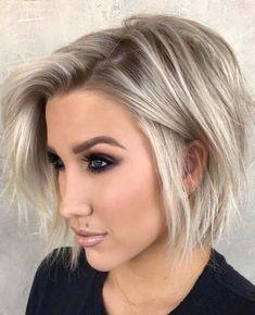 46 Amazing Messy Bob Haircuts To Create in 2018