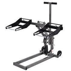 """Goplus Max Mower Lift, High Lift Jack For Tractors And Zero Turn Riding Lawn Mowers, 300lb Capacity  Opening dimension of the mower lift : 43.5""""x39.75""""x39.4""""(LXWXH)  Max weight capacity:300lbs  Maximum Lift Height : 25"""" ,Minimum height : 1 1/4""""  Width adjustable range: 36""""- 50.5""""  Package include: 1 x High Lift Jack for Riding Lawn Mower"""