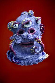 Monster-Masken aus Wolle – Tentakel für alle!