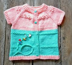 Vest for little ladies 6-12 months. Hand Embroidered and decoration delicate flowers. Total length - 30 =11 3/4 width of chest -25 cm - 9 7/8   Used
