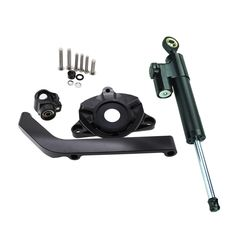 74.08$  Buy now - http://ali6ay.shopchina.info/1/go.php?t=32816648201 - FXCNC Aluminum Motorcycles Steering Stabilize Damper Bracket Mount Kit For Kawasaki Z1000 2014-2016 2015 Moto Steering Support 74.08$ #aliexpressideas