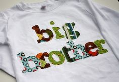 Big Brother Shirt -Choose Shirt Color and Sleeve Length - Perfect for Family Pictures, Pregnancy Announcement, Baby Shower Gifts
