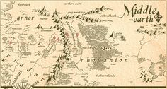 Gallery For > Middle Earth Map The Hobbit Path Middle Earth Map, The Middle, Fantasy Map, Fantasy World, The Hobbit Map, Tolkien Map, Lotr Quotes, Walking Map, Journey