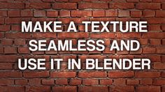 This is a real-time workflow from an image to a complete blender material. In this tutorial I explain how to make a texture seamless in Photoshop, create tex...