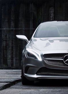 Mercedes CLA. Frontside swagger.