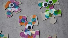 Puzzle Piece Monsters – Kid Craft