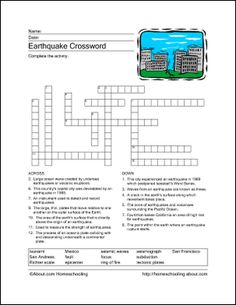 Printables Earthquakes For Kids Worksheets earthquake worksheets free earthquakes esl worksheet printable printables wordsearch print the word search and find related