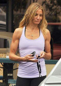 Cameron Diaz - check out those arms