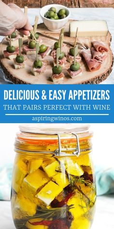 It's not a wine tasting if there isn't food. Here are some delicious, easy appetizers to pair with wine at your next wine tasting party (or date night in! Wine Appetizers, Greek Appetizers, Yummy Appetizers, Appetizers For Party, Appetizer Recipes, Party Nibbles, Cheese And Wine Tasting, Wine Tasting Party, Wine Parties