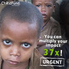 ChildFund International is dedicated to helping children in need. We believe all children deserve hope. Helping Children, Children In Need, Child Sponsorship, Millions Of Dollars, Believe, Gift, Presents, Gifts