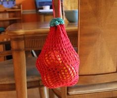 Wild Strawberry Shopping Bag