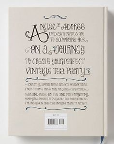 vintage tea party book 2