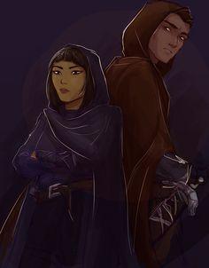 Chaol and Nesryn