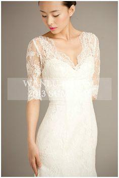 Lace wedding dress Bridal dress bridal gownBAILEA by WanluBridal, $1,050.00