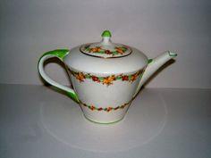 1930s Aynsley Teapot Vintage Teapot Vintage Kitchen Vintage Serving Vintage Table Vintage Housewares on Etsy, $55.00