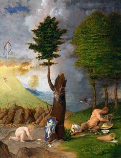 """L' """"Allegoria della Virtù e del Vizio"""" è un dipinto a olio su tavola di Lorenzo Lotto, datato al 1505 e conservato nella """"National Gallery of Art"""" di Washington."""