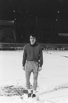 Johan Cruyff during Ajax against Eintracht Frankfurt friendly (6:2), 29 December 1970. Photo: Hans Peters