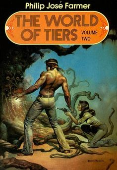 WTF Sci-Fi Book Covers: The World of Tiers Volume Two - Book 2 of a fabulous series.