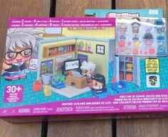 My Mini Mixie Q's first day of school deluxe mini room playset