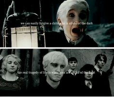 Draco did get the short end of the stick and it's sad Draco Harry Potter, Harry Potter Feels, Harry Potter Aesthetic, Harry Potter Universal, Harry Potter Characters, Draco Malfoy Quotes, Harry Potter Movie Quotes, Dumbledore Quotes, Drarry