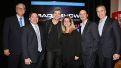 Pictured (L-R) before DeGraw's performance are: NAB President and CEO Gordon Smith, FCC Commissioner Michael O'Rielly, BMI songwriter Gavin DeGraw, RAB President and CEO Erica Farber,Univision President of Political and Advocacy Sales and NAB Radio Board Chair Jose Valle and BMI Senior Vice President, Licensing, Mike Steinberg.