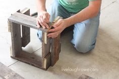 Pallet Planter Box: DIY Project - live. laugh. rowe