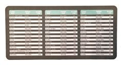 Corrections to We R Memory Keepers Envelope Punch Board