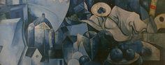 Braqueana brasileira. Pintura mural. 1982.