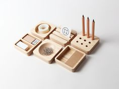 Tofu, stationery set.