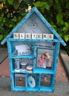 Versier je eigen houten letterbak huisje en tover het om in een villa!