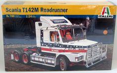 Scania T142 Roadrunner Italeri #780 1/24 Scale Truck Model Kit New