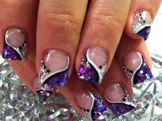 Nail Art: Pretty Purple