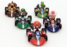 Super Mario Kart Die Cast Figures $19.25