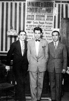 Francisco Ascaso, Buenaventura Durruti y Gregorio Jover