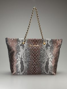 Snake Tote by Love Moschino on Gilt
