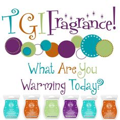 #TGIFragrance What Are You Warming Today? https://kimhatfield.scentsy.us/