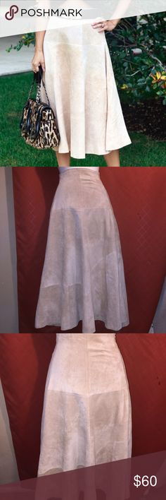H&M Suede Skirt Leather skirt in great condition H&M Skirts A-Line or Full