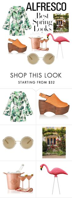 """spring has sprung"" by teelanistyled ❤ liked on Polyvore featuring Simon Miller, Dolce&Gabbana, H&M and Mark & Graham"