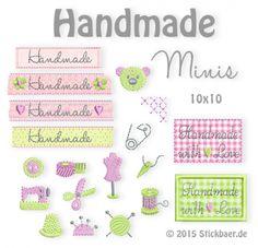 Handmade-Minis Embroidery Design