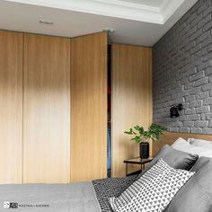 Sypialnia styl Industrialny - zdjęcie od SAS Wnętrza i Kuchnie - Sypialnia - Styl Industrialny - SAS Wnętrza i Kuchnie