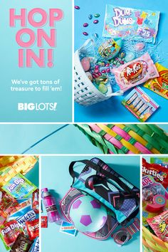 Big Lots is your Easter headquarters this year! Find deals on everything you need to make this a memorable Easter, like Easter decorations, baskets, candy, and gifts for kids. Pink Popcorn, Easter Candy, Easter Baskets, Gifts For Kids, How To Memorize Things, Spring, Holiday, Fun, Decor