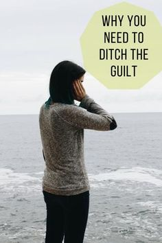 How to get rid of guilt, an easy and simple way to overcome guilt. Let go of guilt to be a happier healthier you. Investigate where that guilt came from and ditch it once and for all. Be Kind To Yourself, Forgiving Yourself, Dealing With Guilt, Low Self Worth, Self Development, Personal Development, Negative Thinking, Negative Self Talk, Mental Health Matters