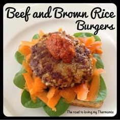 The road to loving my Thermomix: Beef and Brown Rice Burgers Super Cook, Bellini Recipe, Different Vegetables, Beef Burgers, Allergy Free Recipes, Dried Beans, Brown Rice, Main Meals, Food Hacks