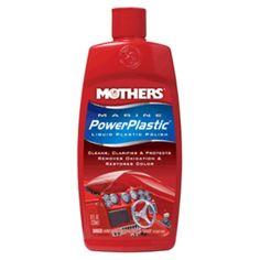 Mothers Marine PowerPlastic Liquid Polish - 8oz