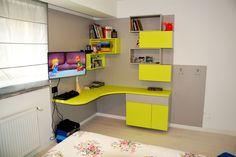Kids Bedroom, Bedroom Decor, Corner Desk, Furniture, Design, Home Decor, Corner Table, Home Furnishings, Interior Design