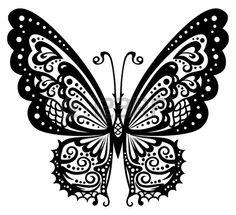 ::::♡ ♤ ♤ ✿⊱╮☼ ☾ PINTEREST.COM christiancross ☀❤ قطـﮧ ⁂ ⦿ ⥾ ⦿ ⁂ ❤U •♥•*[†] ::::Artistic pattern with butterfly Stock Vector