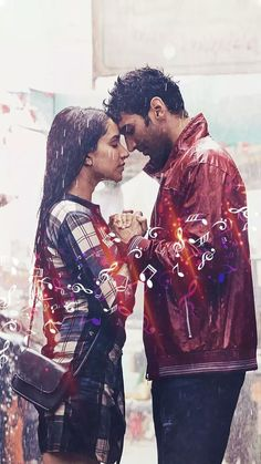 Bollywood Couples, Bollywood Stars, Bollywood Celebrities, Bollywood Actress, Ok Jaanu Movie, Hero Movie, Roy Kapoor, Sraddha Kapoor, Shraddha Kapoor Saree
