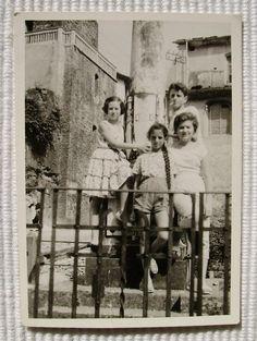 Vintage Photograph  Children in Forte Dei Marmi Italy by LoosLoft, $3.50